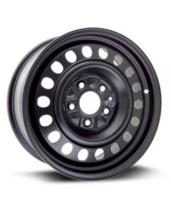Steel Wheel 17x7 5x127 ET40 CB71.5 Black